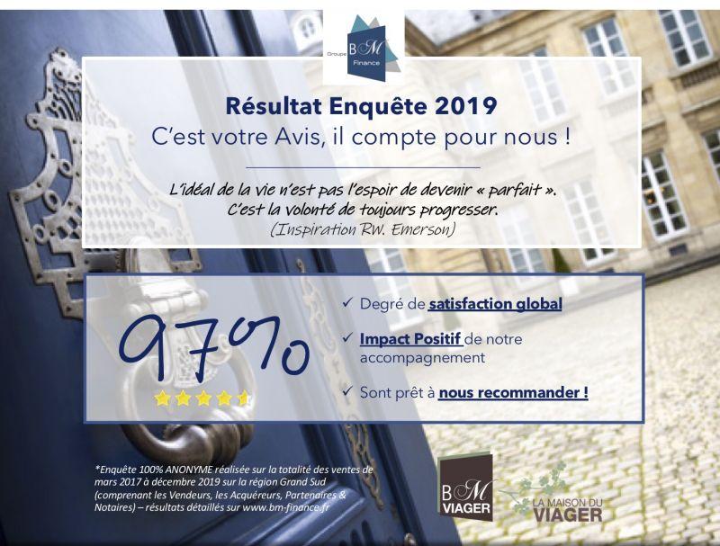 Viager occupé tourrettes - 83440 bouquet 90 000E - ref 1772
