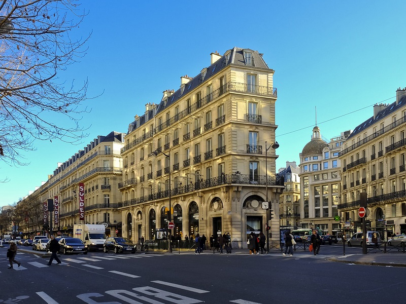 Immobilier classique paris - 75009 bouquet 12 000E - ref 1847