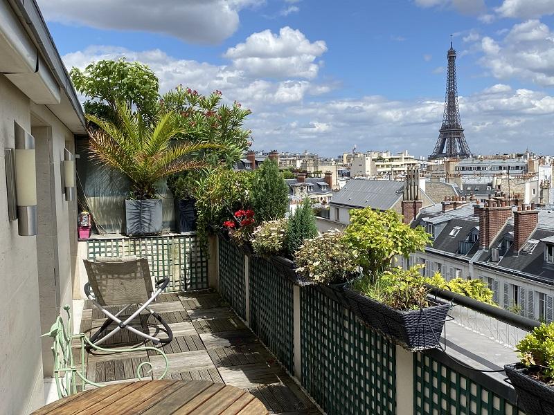 Vente avec réserve d'usufruit PARIS