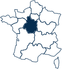 Carte France CENTRE-VAL-DE-LOIRE