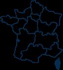 Carte France CORSE