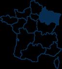 Carte France GRAND-EST