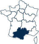 Carte France OCCITANIE
