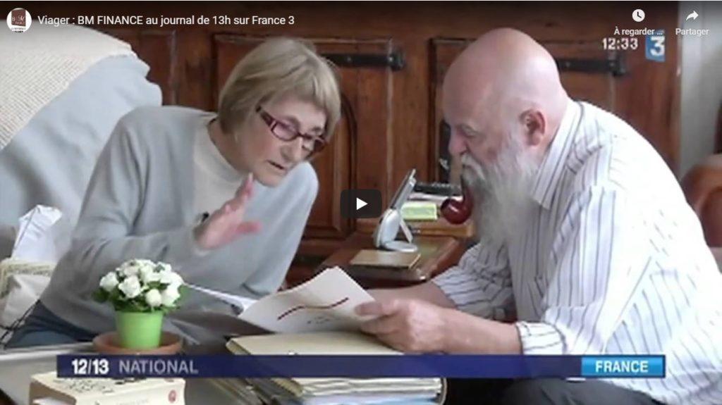 france 3 interview bm finance viager